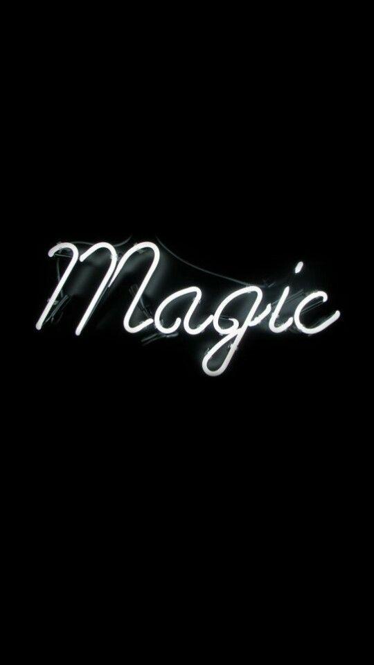 You are Magic! #lockscreen #wallpaper #neonlight