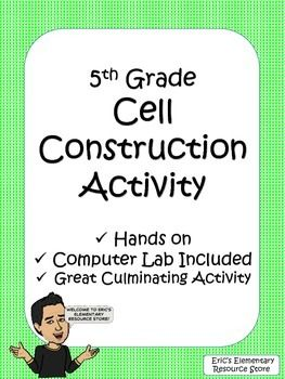 Cells Activities - Animal Cell and Plant Cell Project