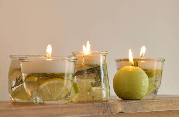 Stop alle zanzare con queste candele fatte in casa