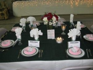 princess table lots of other table ideas for a ladies banquet or mothers day banquet