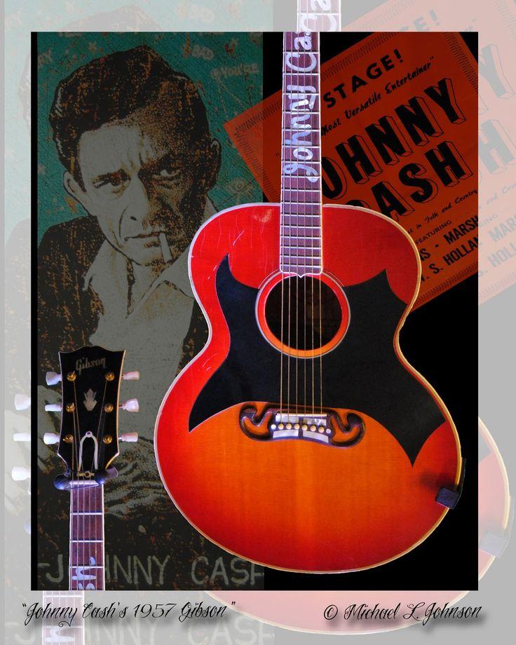 Johnny Cashs 1957 Gibson