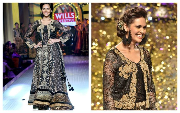 Bollywood superstar ESHA GUPTA closed our spring-summer 2013 show looking oh-so-stunning.