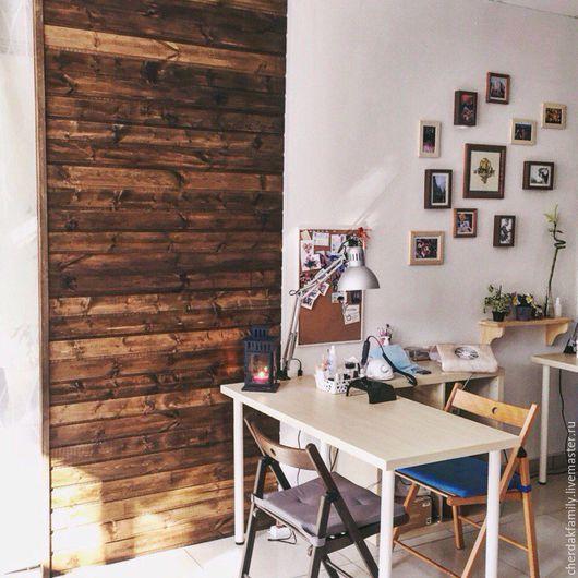 Мебель ручной работы. Ярмарка Мастеров - ручная работа. Купить Деревянная стена. Handmade. Коричневый, деревянная стена, деревянная ширма