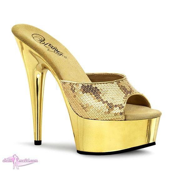 17 best images about high heels pumps pures glitzern. Black Bedroom Furniture Sets. Home Design Ideas