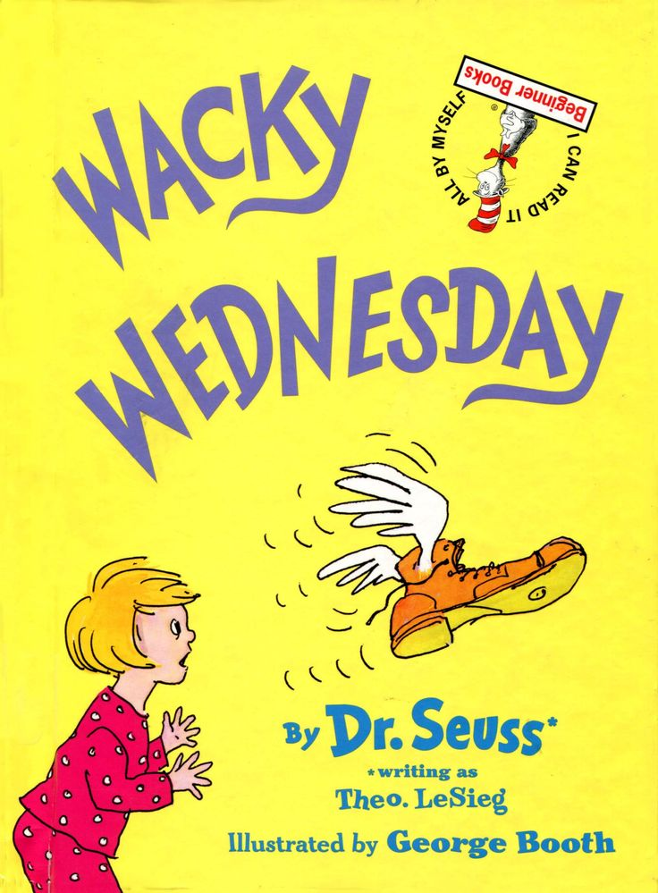 Wacky Wednesday by Dr. Seuss Read Along