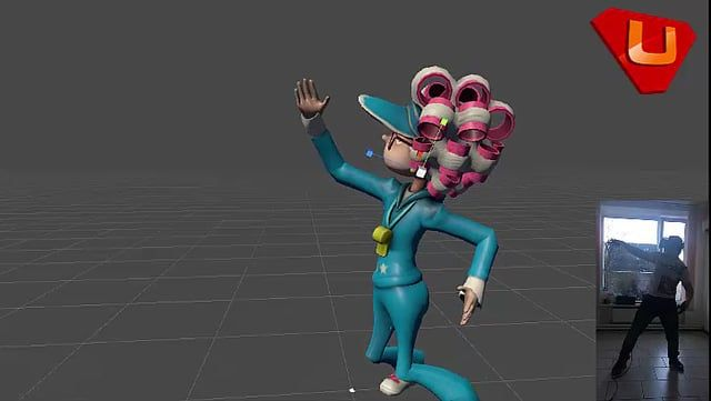 Our first step by dubstep in #VR Dance. #gamedev by uni-bit.com