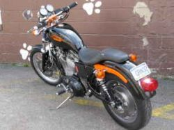 1989 Harley-Davidson Sportster 1200: Here are a few specs on my 1989 Harley Sportster 1200 for Sale.  Suspension:  Forks, shocks rear (sprung for 160# rider). It works dual rate springs, gold