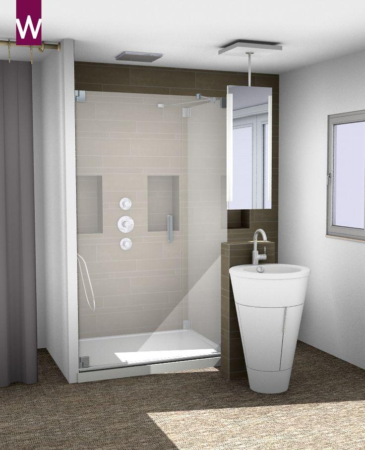 Kleine badkamer voorbeelden bekijk ze hier op kleine slaapkamer zolder for Plan kleine badkamer