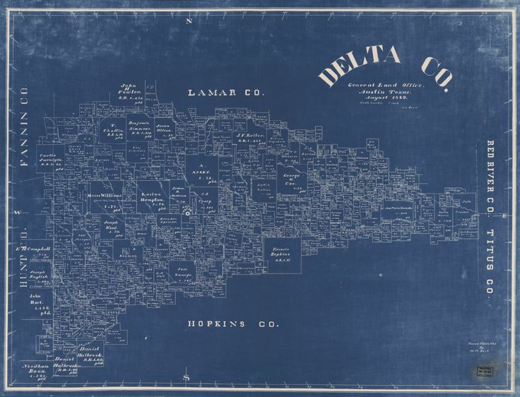 Land ownership map of delta county in US  AALUCartography