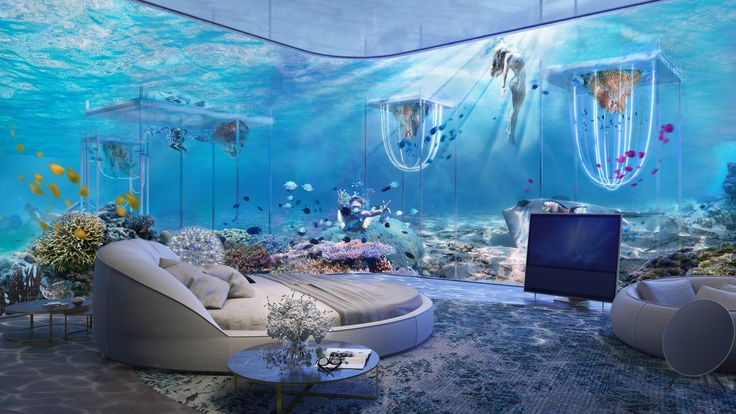 The Floating Venice – the World's first Underwater Luxury Vessel Resort