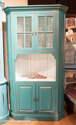 128 best corner hutch images on Pinterest | Corner cabinets ...