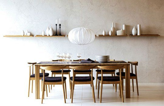 Keeping It Simple: Minimalist Dining Rooms