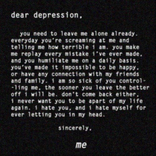 Depression Quotes To Feel Better: 1000+ Feeling Depressed Quotes On Pinterest