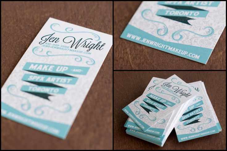 Business card design I recently completed for Jen Wright Make Up & SPFX Artist.  www.bofagroup.com