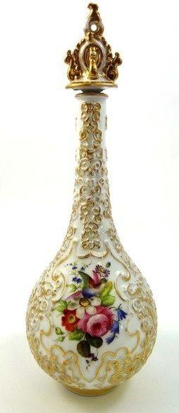 48. #Porcelain Perfume Bottle - 55 Gorgeous #Vintage Perfume #Bottles You'll…