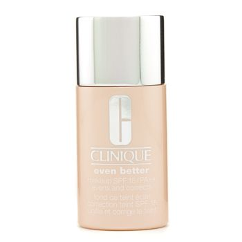 Clinique Even Better Makeup SPF15 (Dry Combinationl to Combination Oily) - No. 06 Honey