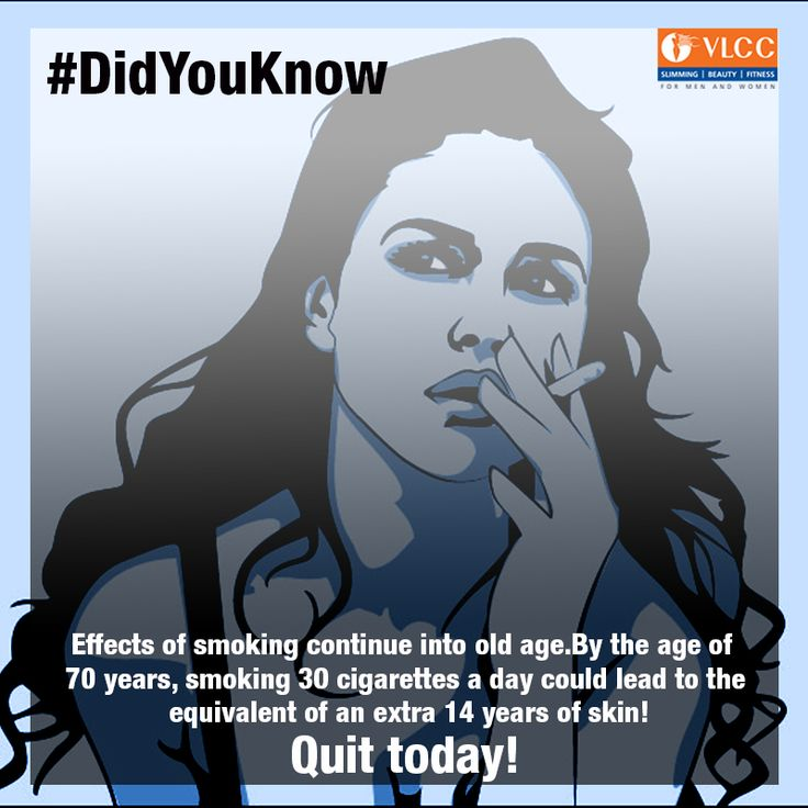 #DidYouKnow: Effects of smoking continue into old age.   Quit today!