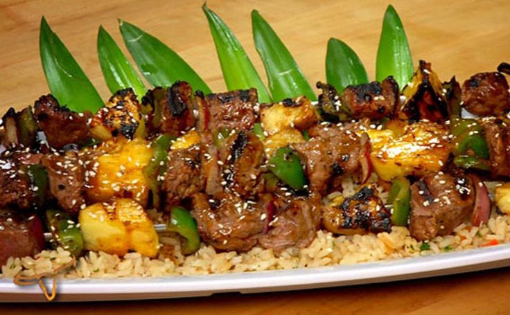 Classic Beef Teriyaki Skewers (THIS IS NOT A COPYCAT) I PINNED From Longhorn Steakhouse