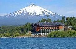 Villarica Park Lake hotel- southern Chile- our favorite hotel