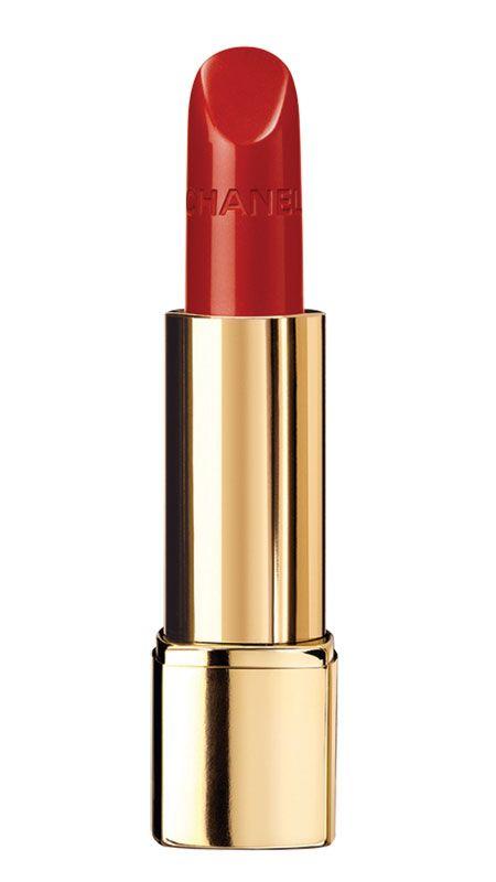 Rouge Allure, de Chanel. Lápiz labial de lujo con el logotipo de la maison grabado sutilmente.