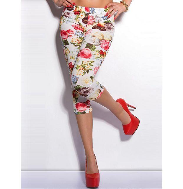 Legice 3/4 Summer Roses, v čudovitem vzorcu poletnih vrtnic.