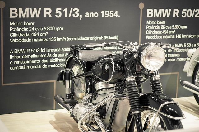 BMW R 51/3 1954 | Flickr: Intercambio de fotos