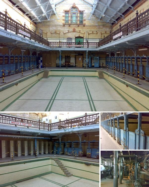 Victoria Baths, Manchester - And we will be getting married in the old Women-only Swimming Pool. So excited x