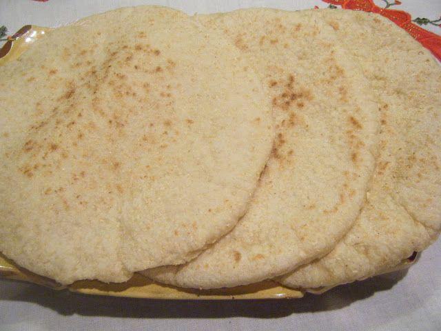 cocina a mi estilo: Pan Arabe(otra version del pan pita) paso a paso