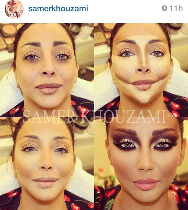 84 best Samer Khouzami - contour makeup extraordinaire images on ...