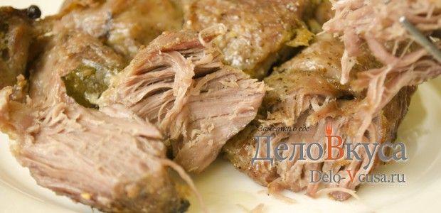 Свинина в фольге запеченная в духовке