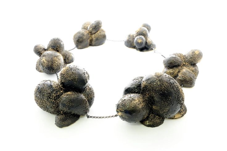 "Michelle Kraemer -  necklace ""starry night"""