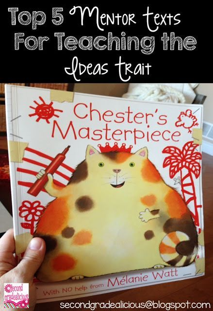 Do you Need Mentor Texts for Teaching the Ideas Trait?