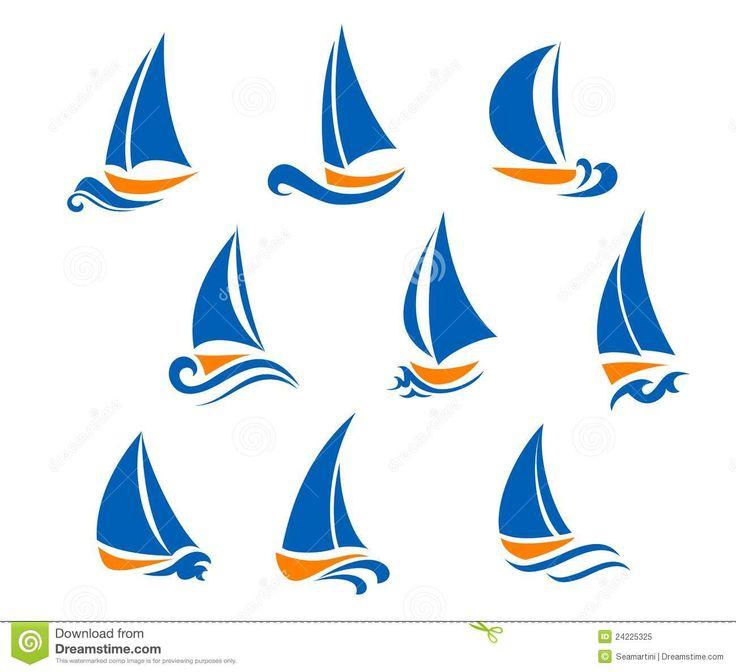 zeilboot tekening - Google zoeken