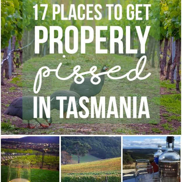 17 Perfect Places To Get Properly Pissed In Tasmania