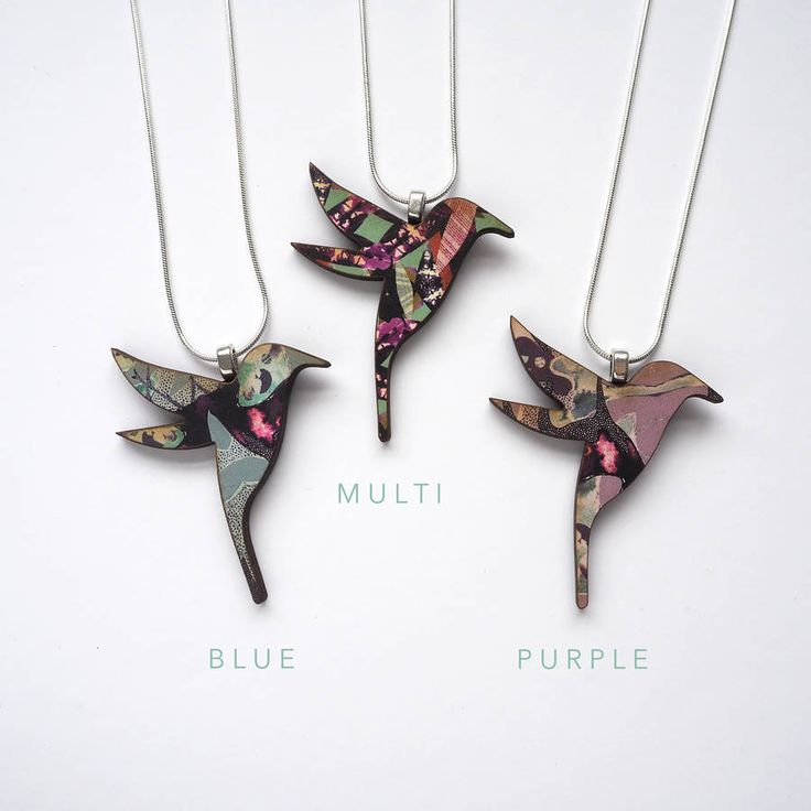 Hummingbird Necklace Bird Necklace Jewellery