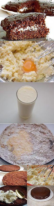 Как приготовить торт «южная ночь» - рецепт, ингридиенты и фотографии