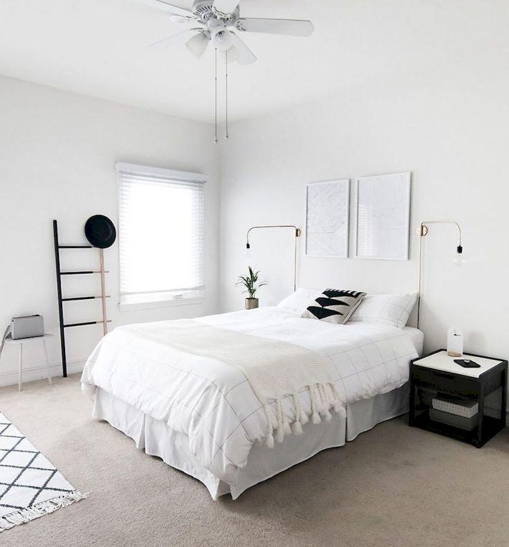 Simple and elegance scandinavian bedroom designs trends 24 chambre de