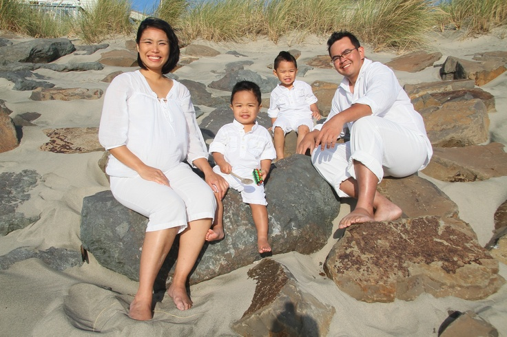 Our #selfshot, #unedited (#SOOC), #maternity/#family shoot at #Rockaway Beach, Oregon.