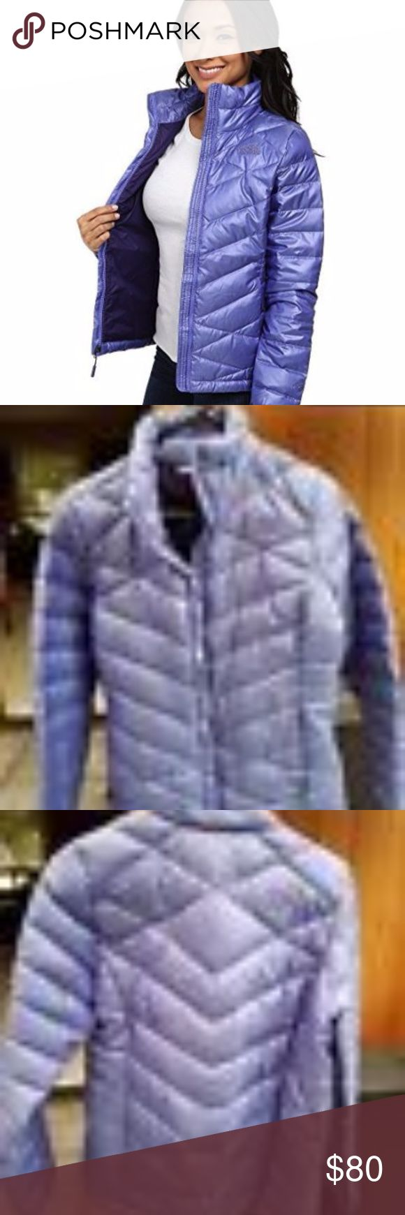 "NWOT North Face Aconcagua Down Jacket, Size M NWOT awesome North Face down jacket, women's medium in ""starry purple."" I've included stock photos and photos of specific jacket. MSRP was $160. This jacket is from last season (I ordered a diff size and love it!), so significantly discounted here! Email with questions! Thank you for looking!  SKU: #8533326 A luxurious down coat that keeps you warm throughout winter Brushed collar lining. Two secure-zip hand pockets. Full zip front. Shell: 83%…"
