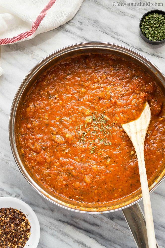 Arrabbiata Sauce Recipe - Spicy Pasta Sauce