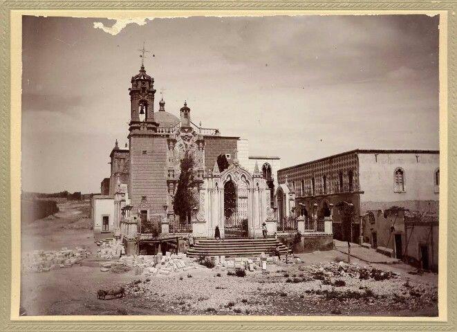Templo d Plateritos en Fresnillo.