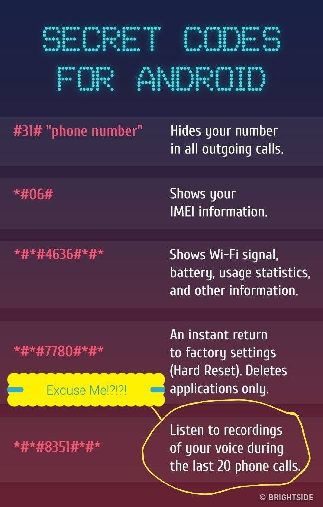 Pin by KAMOTHO on #IntrestingToKnow   Android phone hacks, Android