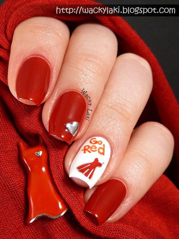 Wacky Laki: Go Red for Women - National Wear Red Day! #GoRedChallenge