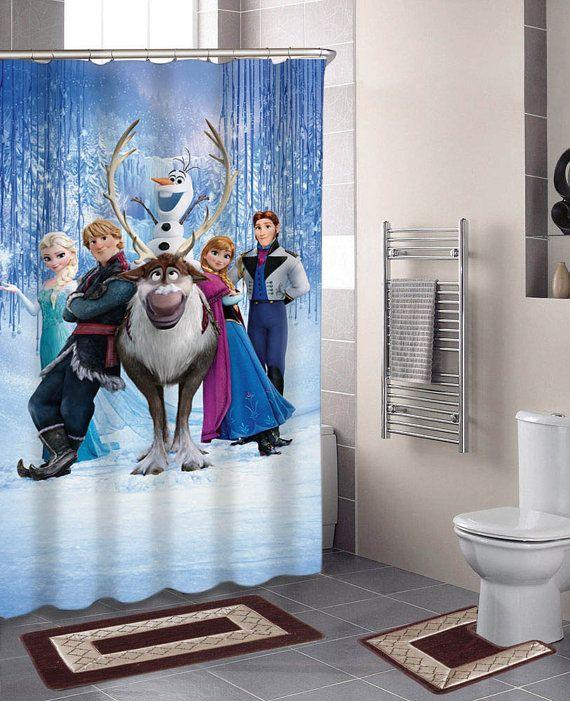 Nice Disney Frozen Specials Custom Shower Curtains That By Kontolwedhus