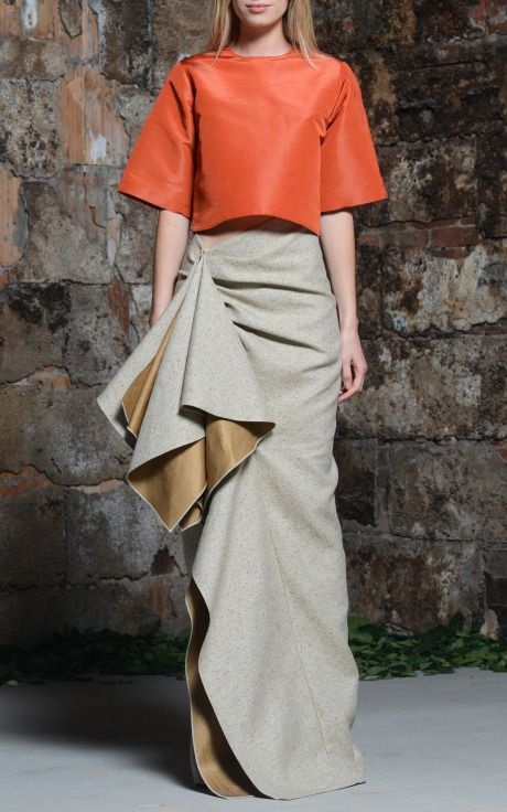 Rosie Assoulin Resort 2015 Trunkshow Look 25 on Moda Operandi