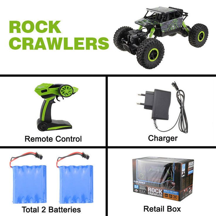 High quality RC Car 2.4Ghz 1/18 Scale Remote Control toys 4 Wheel Drive Rock Crawler rc Car remote control toys for children