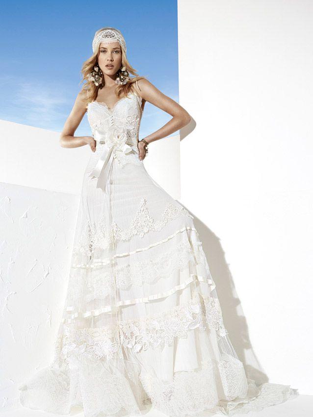 Vestidos de novia ibicencos en madrid