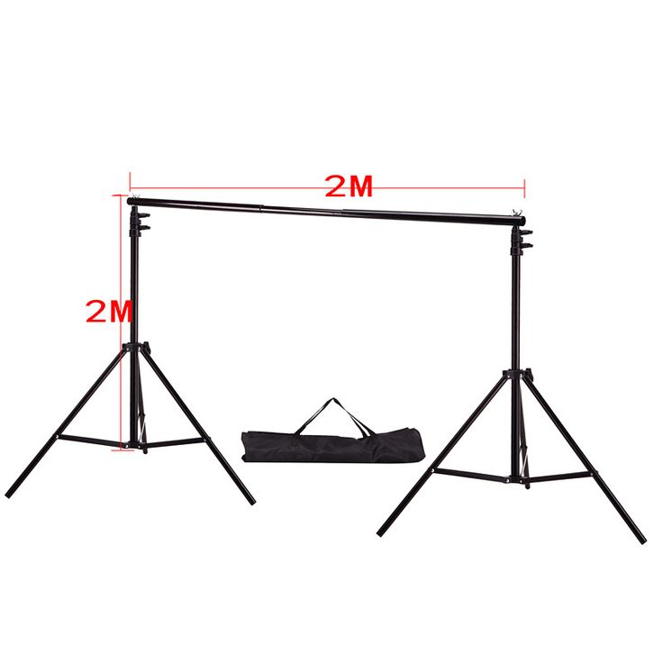 DHL Or EMS 2X 2M(6.5ft*6.5ft) Photo Background Support System Stands Adjustable Backdrop Photograpy backgrounds for photo studio //Price: $0.00//     #onlineshop