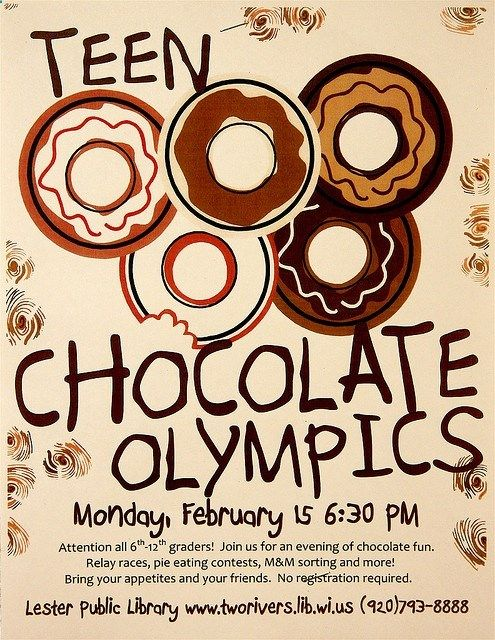 Teen Chocolate Olympics | Flickr - Photo Sharing!                                                                                                                                                                                 More