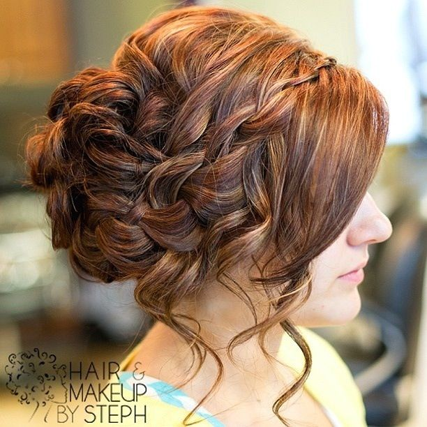 Brilliant 17 Best Images About Homecoming Hair On Pinterest Updo Hairstyles For Women Draintrainus